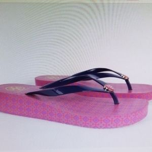 Tory Burch  Wedge Thong Sandals